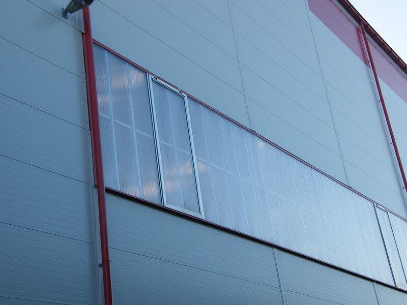 Polycarbonate glazing, CIPI, s.r.o. references