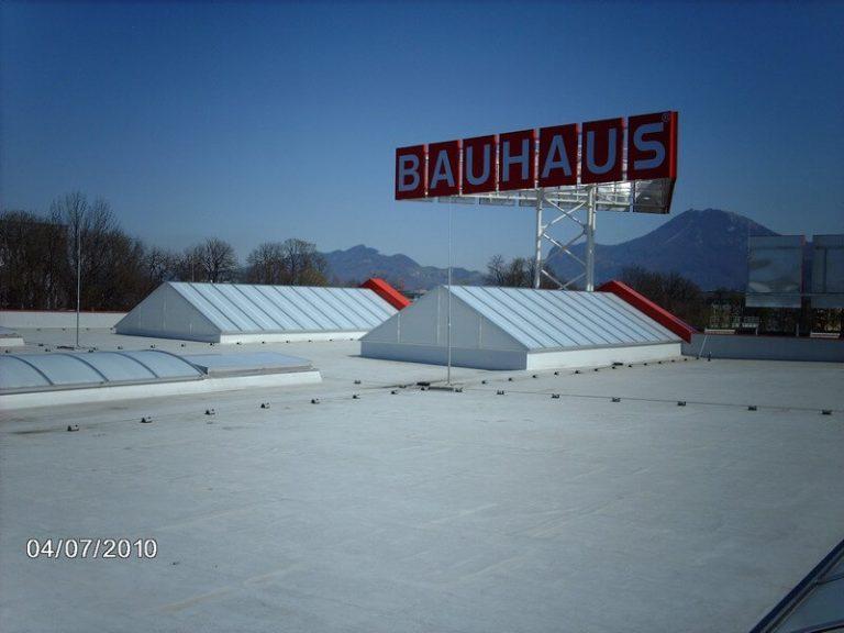 Reference CIPI, s.r.o., Střešní světlíky Bauhaus_Wals_AT_2