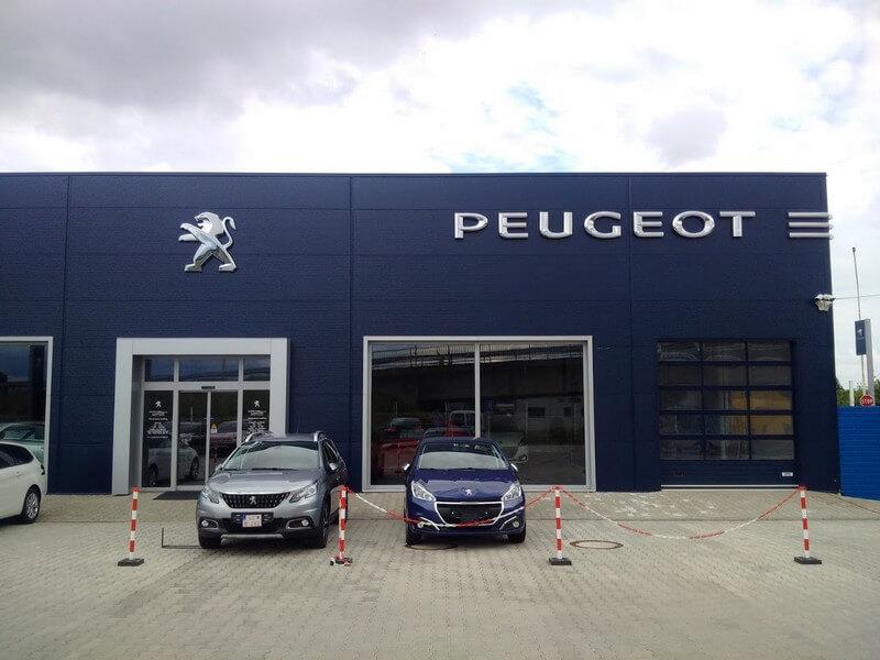 Reference CIPI, s.r.o., Ocelové konstrukce Peugeot_LC_2